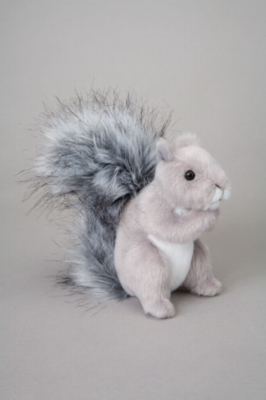 "Shasta Gray Squirrel - 5"" Squirrel By Douglas Cuddle Toy"