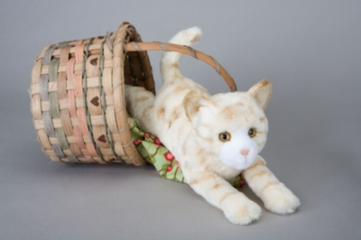 "Savory Orange Tiger Cat - 14"" Cat by Douglas Cuddle Toy"