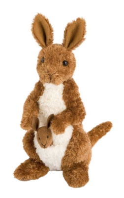 Melbourne - 8'' Kangaroo By Douglas Cuddle Toys