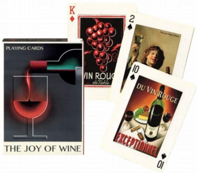 The Joy of Wine - Playing Cards