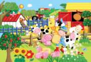 Floor Jigsaw Puzzles For Kids - My Little Farm