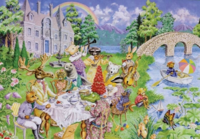 Critter Tea Party - 24pc Floor Puzzles by Ravensburger