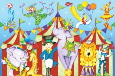 Day at the Circus - 24pc Floor Puzzles by Ravensburger