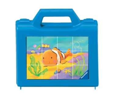Little Sea Animals - 12pc Block Puzzle by Ravensburger