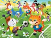 Soccer Fun - 35pc Jigsaw Puzzle by Ravensburger