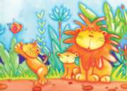 Adorable Lions - 35pc Jigsaw Puzzle by Ravensburger