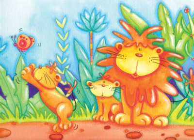 Jigsaw Puzzles for Kids - Adorable Lions