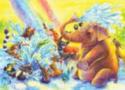 Fun at the Waterhole - 35pc Jigsaw Puzzle by Ravensburger