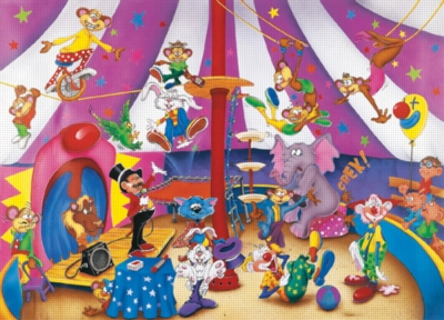 Circus Fun - 35pc Jigsaw Puzzle by Ravensburger