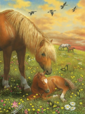Hush Little Horsie - 60pc Jigsaw Puzzle by Ravensburger