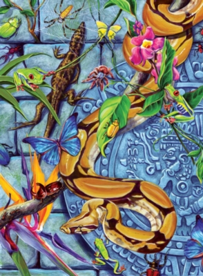 Creepies - 100pc Jigsaw Puzzle by Ravensburger