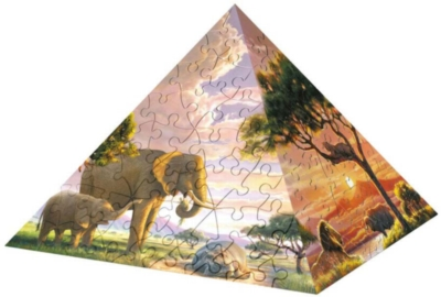Impressions of Africa - 240pc Puzzle Pyramid by Ravensburger