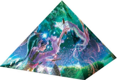 Enchanted Dream World - 240pc Puzzle Pyramid by Ravensburger