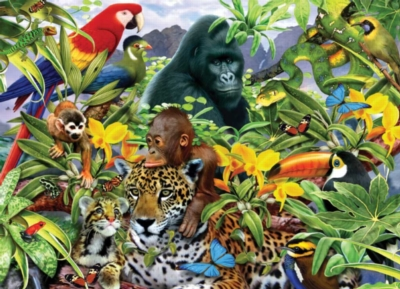 Animal Planet: Jungle Friends - 200pc Jigsaw Puzzle by Ravensburger