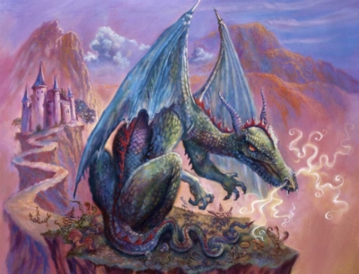 Lone Dragon - 300pc Jigsaw Puzzle by Ravensburger