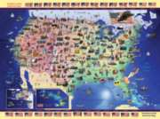 Ravensburger Jigsaw Puzzles - USA Map