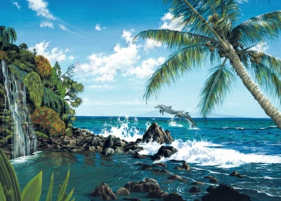 Dolphin Cove - 300pc Large Format Jigsaw Puzzle by Ravensburger