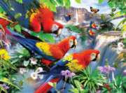 Tropical Birds - 300pc Large Format Jigsaw Puzzle by Ravensburger