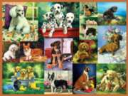 Puppy Collage - 300pc Large Format Jigsaw Puzzle by Ravensburger
