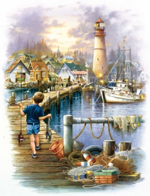 Big Catch - 300pc Large Format Jigsaw Puzzle by Ravensburger