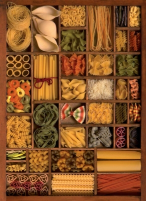 Plenty of Pasta - 500pc Jigsaw Puzzle by Ravensburger
