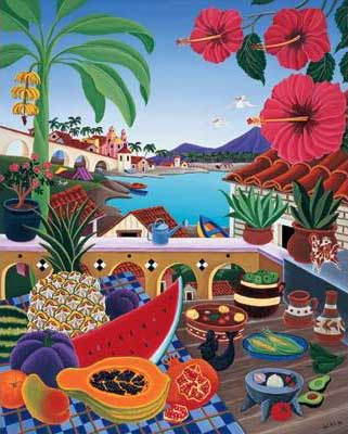 Taste of Paradise - 500pc Large Format Jigsaw Puzzle by Ravensburger