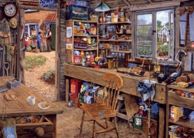 Dad's Shed - 500pc Large Format Jigsaw Puzzle by Ravensburger