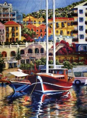Ravensburger Jigsaw Puzzles - Exotic Harbor