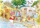 WASGIJ Mystery: Camping Commotion - 1000pc Jigsaw Puzzle by Ravensburger
