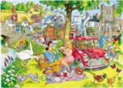 WASGIJ Destiny: Picnic Time - 1000pc Spring Jigsaw Puzzle by Ravensburger