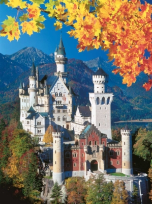Neuschwanstein Castle - 1500pc Jigsaw Puzzle by Ravensburger