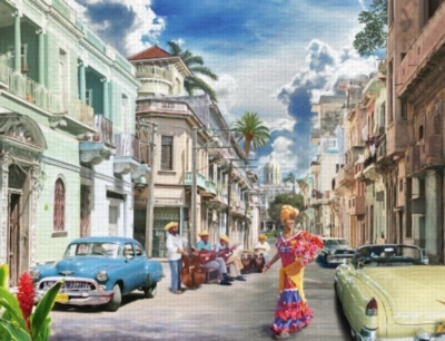 Cuban Impressions - 2000pc Jigsaw Puzzle by Ravensburger