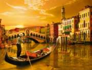Gondolier in Venice - 2000pc Jigsaw Puzzle by Ravensburger