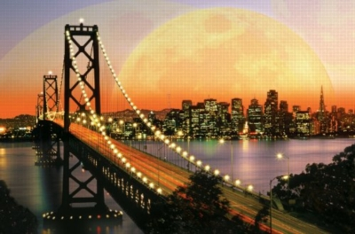 San Francisco at Night - 3000pc Jigsaw Puzzle by Ravensburger