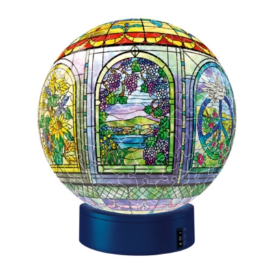 Stained Glass (with Light Stand) - 240pc Puzzleball by Ravensburger