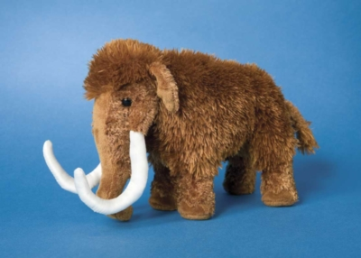 Everett - 8'' Wooly Mammoth By Douglas Cuddle Toys