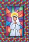 Stained Glass Angel - Garden Flag by Toland