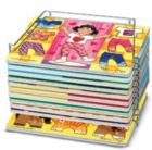 Single Wire Puzzle Rack - Jigsaw Puzzle Storage Accessory By Melissa and Doug