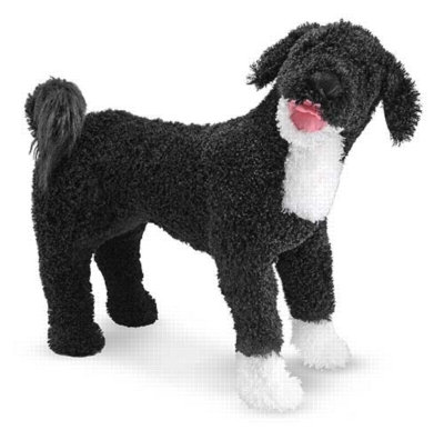 Portuguese Water Dog - 25&quot; Tall, Standing Plush Dog by Melissa & Doug