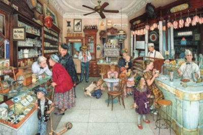 Jigsaw Puzzle - The Soda Fountain