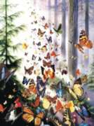 Butterfly Woods - 3000pc Jigsaw Puzzle By Sunsout