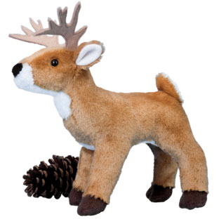 Tanner Deer - 8'' Deer by Douglas Cuddle Toy