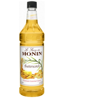 Monin Classic Flavored Syrups - 1L Plastic Bottle