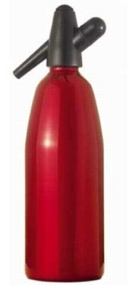 Whip-it! Soda Siphon (Screw Valve) - 1L Metal (Red)