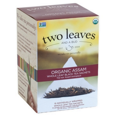 Two Leaves Tea - Box of 15 Tea Sachets