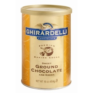 Ghirardelli Sweet Ground Chocolate Powder - 1 lb. Can