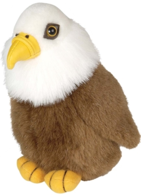 "Audubon Birds: Bald Eagle (USA) - 6"" Bird by Wild Republic"