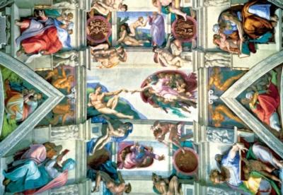 Jigsaw Puzzles - Michelangelo: Sistine Chapel