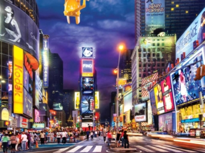 Times Square - 4000pc Jigsaw Puzzle by Buffalo Games
