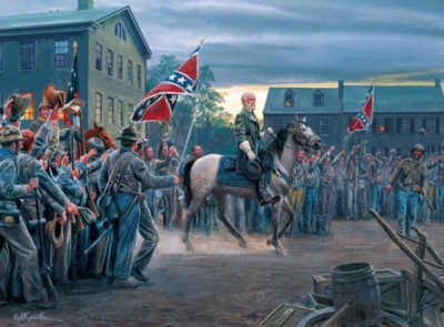 Mort Kunstler: Twilight in Gettysburg - 1000pc Jigsaw Puzzle by Buffalo Games